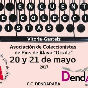 """XI Encuentro de coleccionistas de pins de Álava """"Orratz"""""""
