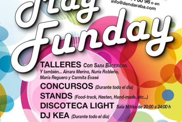 May Funday – Talleres con la bloguera Sara Baceiredo